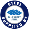 Steel Supplied By Bluescope Steel